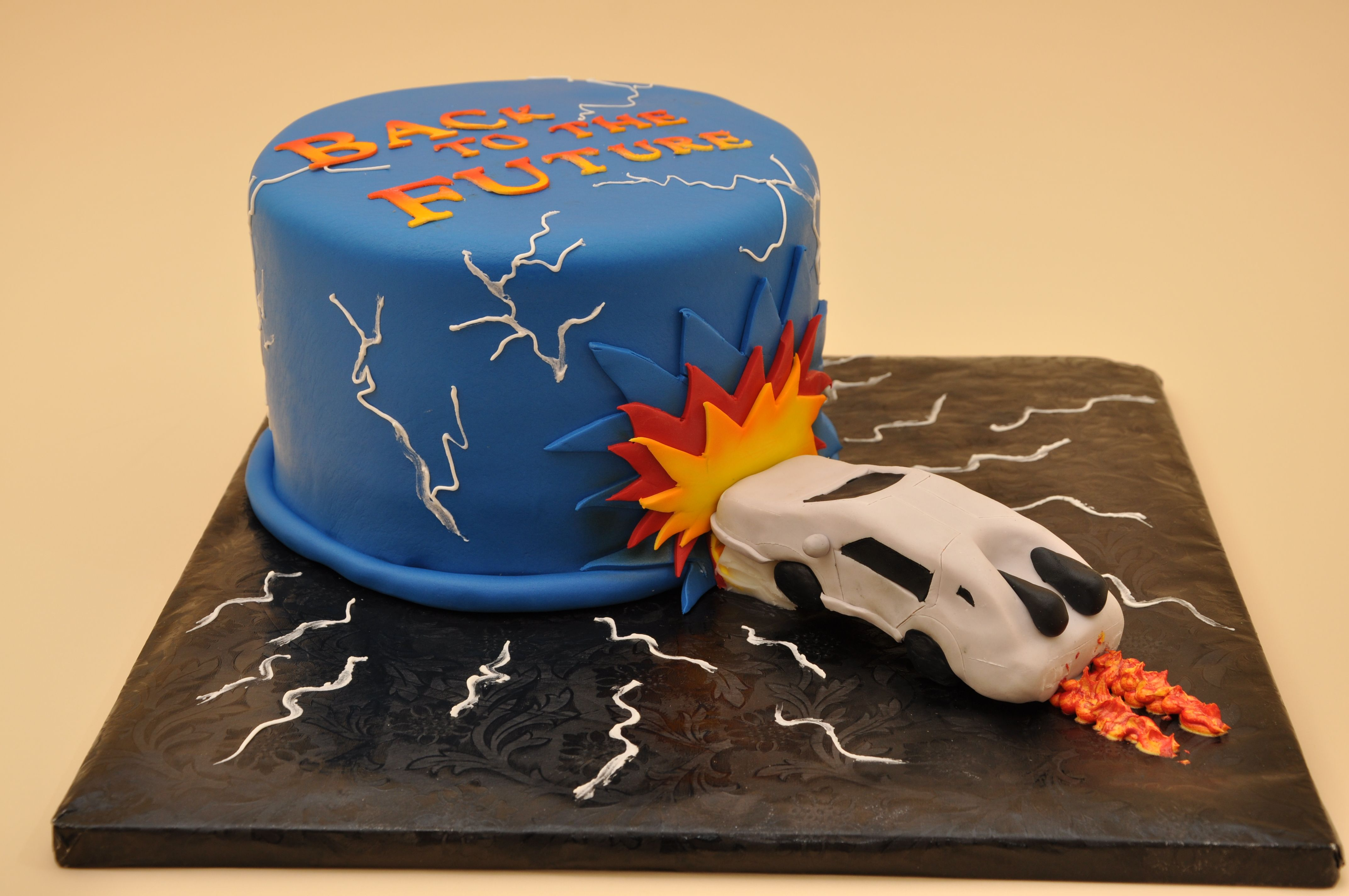 Bethel Bakery Back To The Future Cake Birthday Designs Bethel