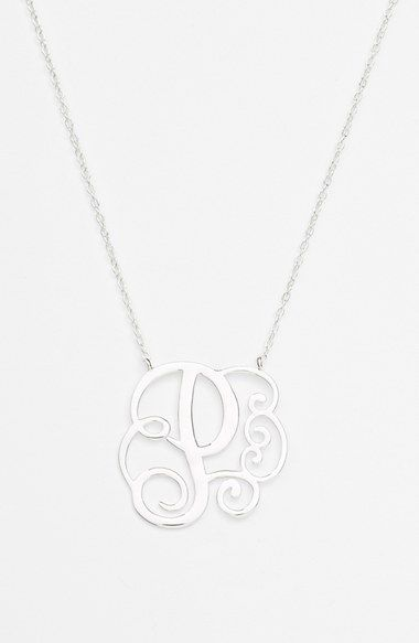 Free shipping and returns on Argento Vivo Boxed Initial Pendant Necklace at Nordstrom.com. A delicately handcrafted necklace culminates with one scrolling initial for a great personalized gift.