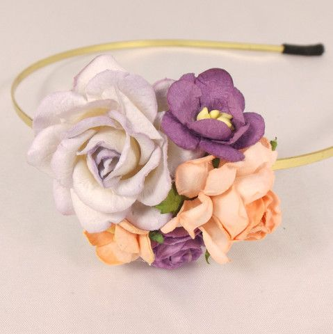 blomster hårspænde