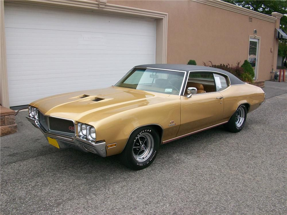 1970 Buick Gs 455 Stage 1 2 Door Coupe Barrett Jackson Auction Company Buick Gs Buick Buick Muscle Car