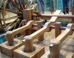 Image result for Ancient chinese horizontal water wheel