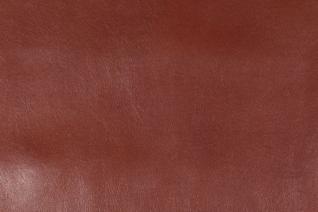 Diversitex Jack Bonded Leather Upholstery Fabric In Cognac This