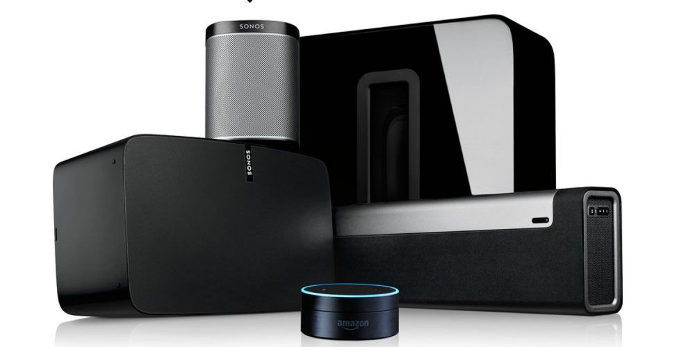 Integration With Lutron Crestron Alexa And Others Enables Sonos Music To Synch With Lights Shades And Other Amenities Sonos Sonos Speakers Amazon Echo