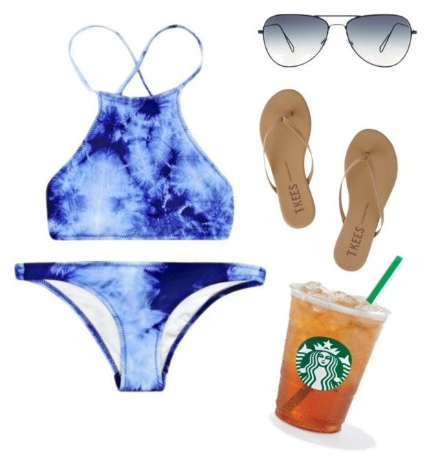 """""""It's Bikini Season ☀️"""" by reamichellebosma ❤ liked on Polyvore featuring Tkees"""