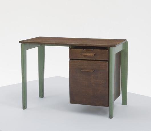 JEAN PROUVÉ , Small desk, ca. 1941-1943