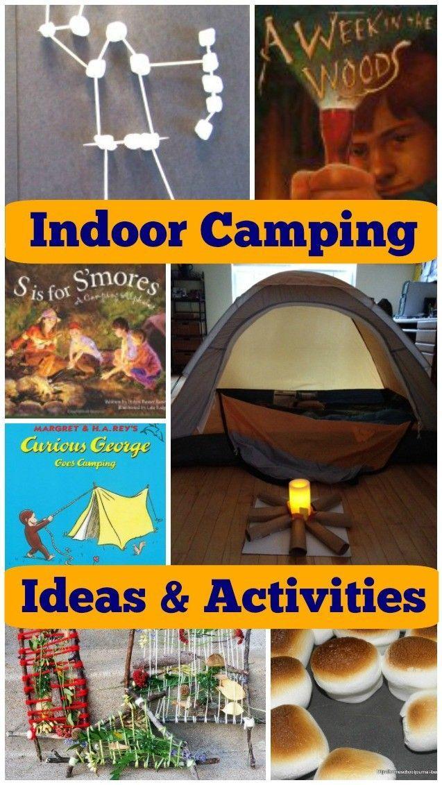 12 FUN Indoor Camping Activities for Kids