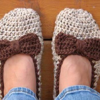 Crochet Women Slippers - Accessories, Adult Crochet Slippers, Home Shoes, Crochet Women Slippers