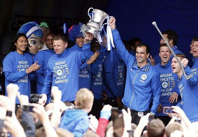 2013 FA Cup Winners - Wigan Athletic FC