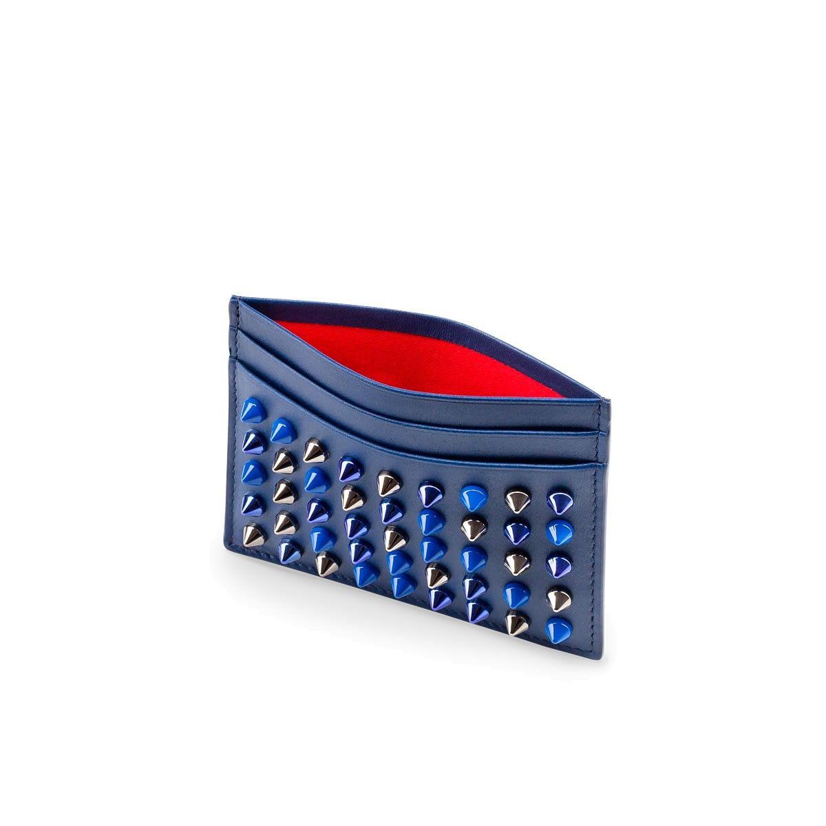 Kios Simple Card Holder Holder Espadon Calfskin