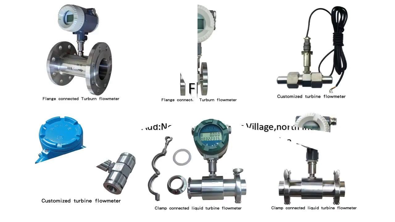 Kinds of turbine flowmeterxhyb manufactor direct selling