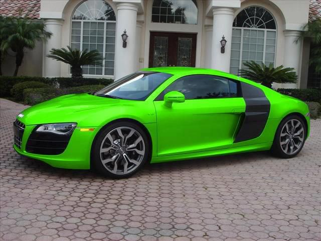 Lime Green Audi R8 It S Like Candy Beautiful Y