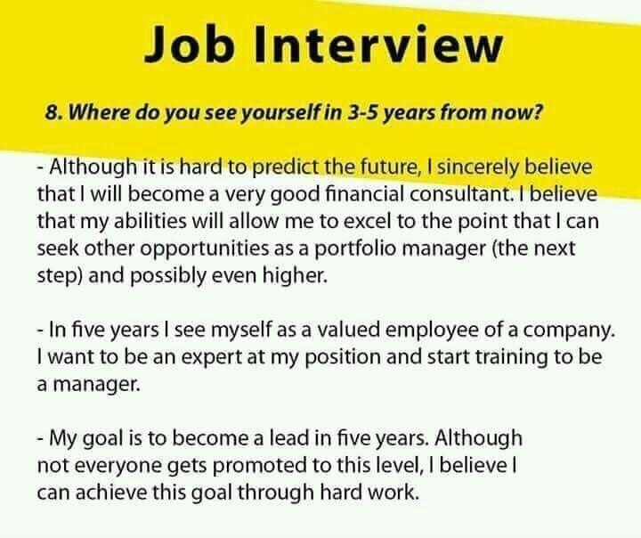 Pin By C Clark On Educational Job Interview Advice
