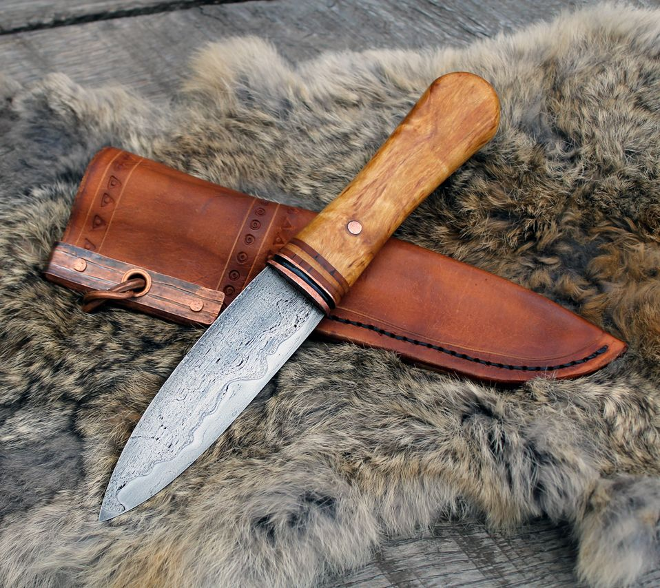 Nate Runals Knife Patterns Hand Forged Knife Design