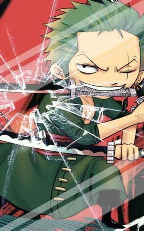 Gambar Wallpaper Roronoa Zoro di 2020 Seni anime, Lock
