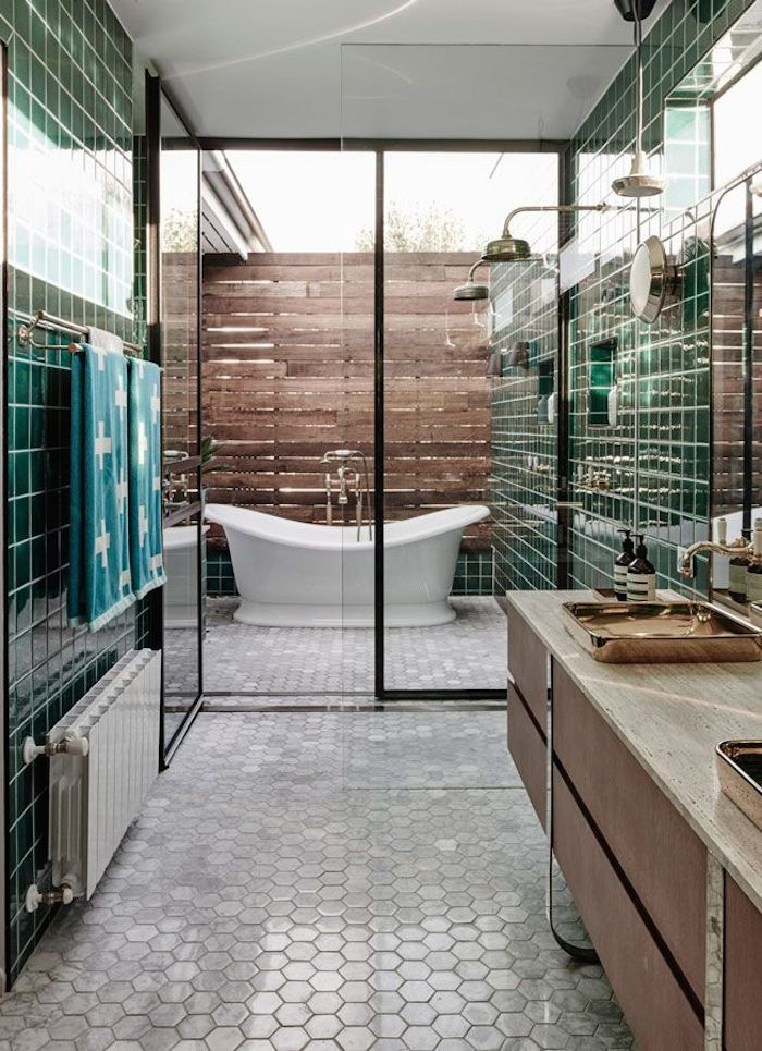29 stunning industrial outdoor design ideas - Outdoor Bathroom