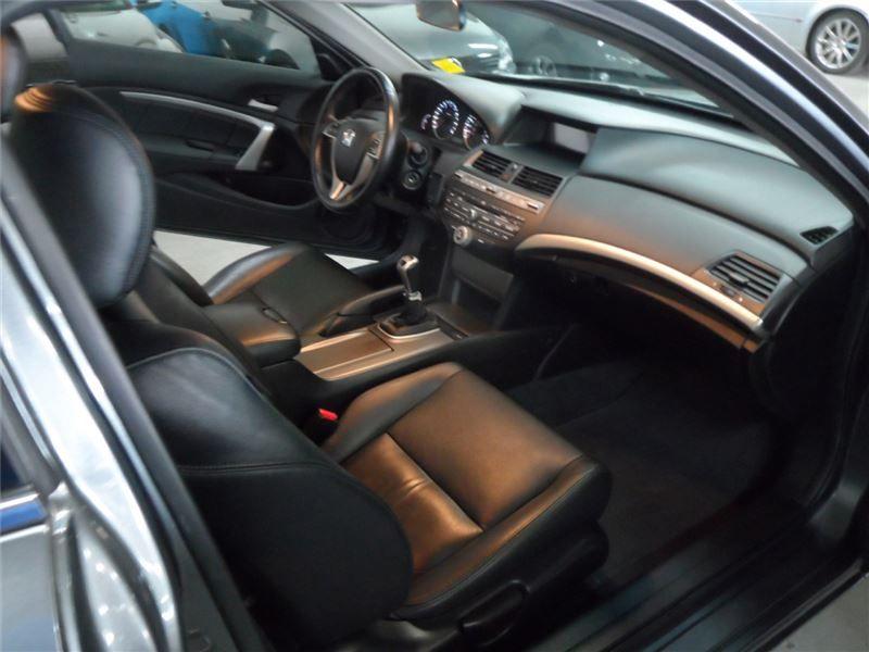 Accord Coupe V6 Manual Interior
