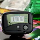 Black LCD Digital Step Pedometer Run Calorie Walking Counter Pocket Clip #Fitness