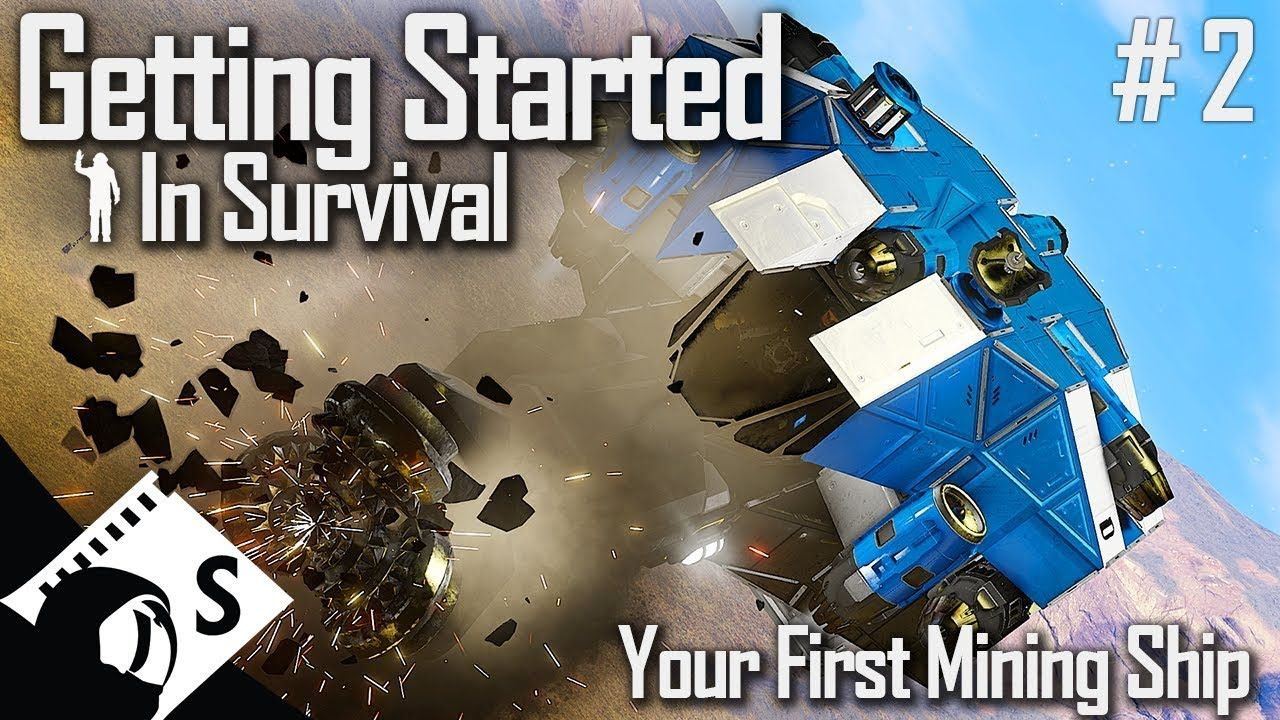 Space Engineers Getting Started 2, Your First Mining