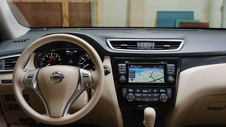 See The All New 2014 Nissan Rogue From All Angles Nissan Rogue Interior Nissan Rogue Nissan