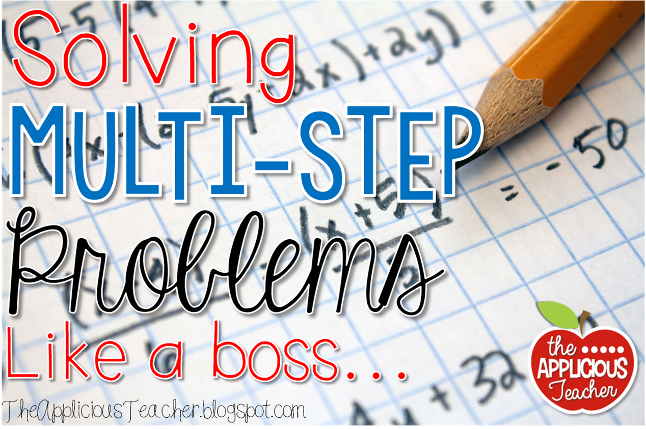 Solving Multi-Step Word Problems Like a Boss | Word problems, Math ...
