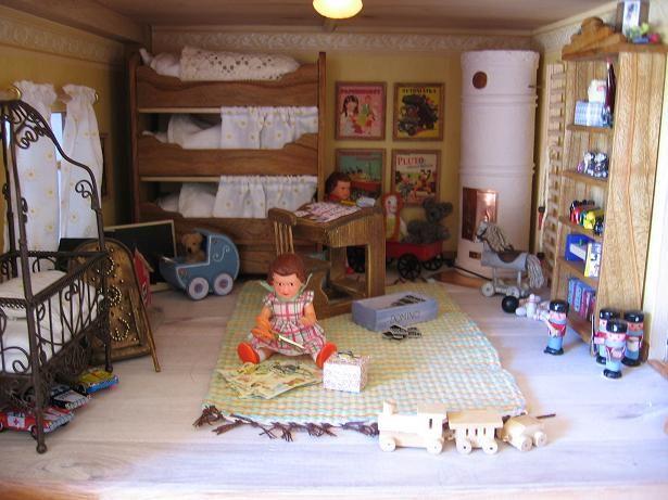 Nukkekoti Väinölä lastenhuone