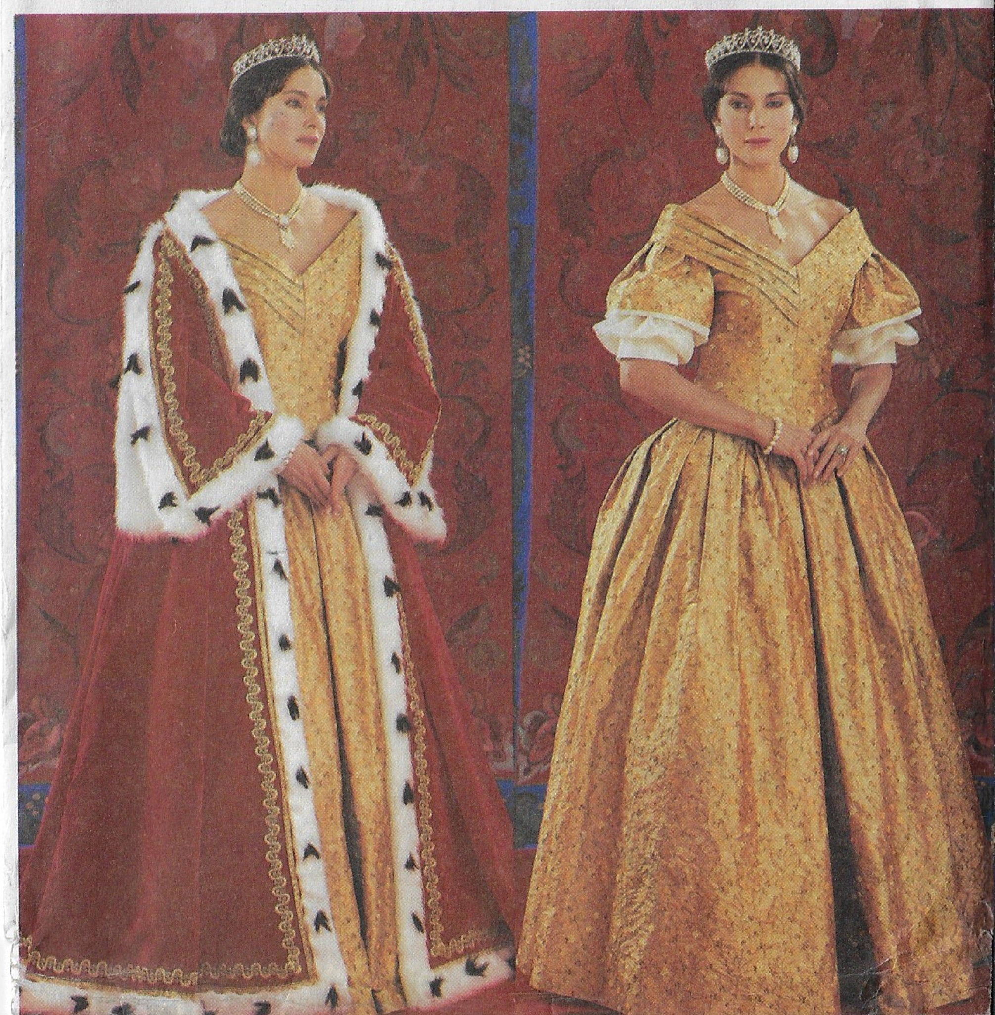 Vtg 1800s 19th Century Victorian Boned Top Skirt Sewing Pattern 14 16 18 20 22