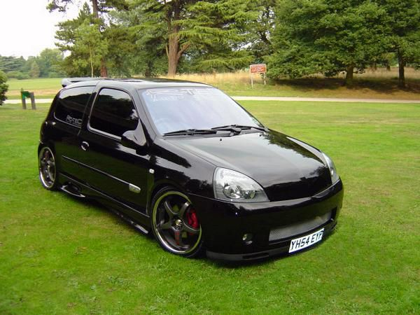 southwestengines modified renault clio 182 2004. Black Bedroom Furniture Sets. Home Design Ideas