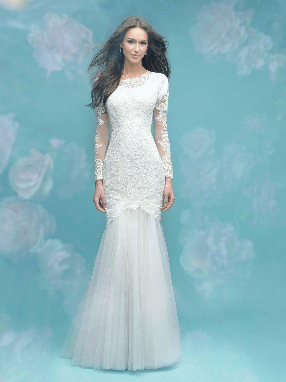 modest wedding dresses with long sleeves long sleeve wedding