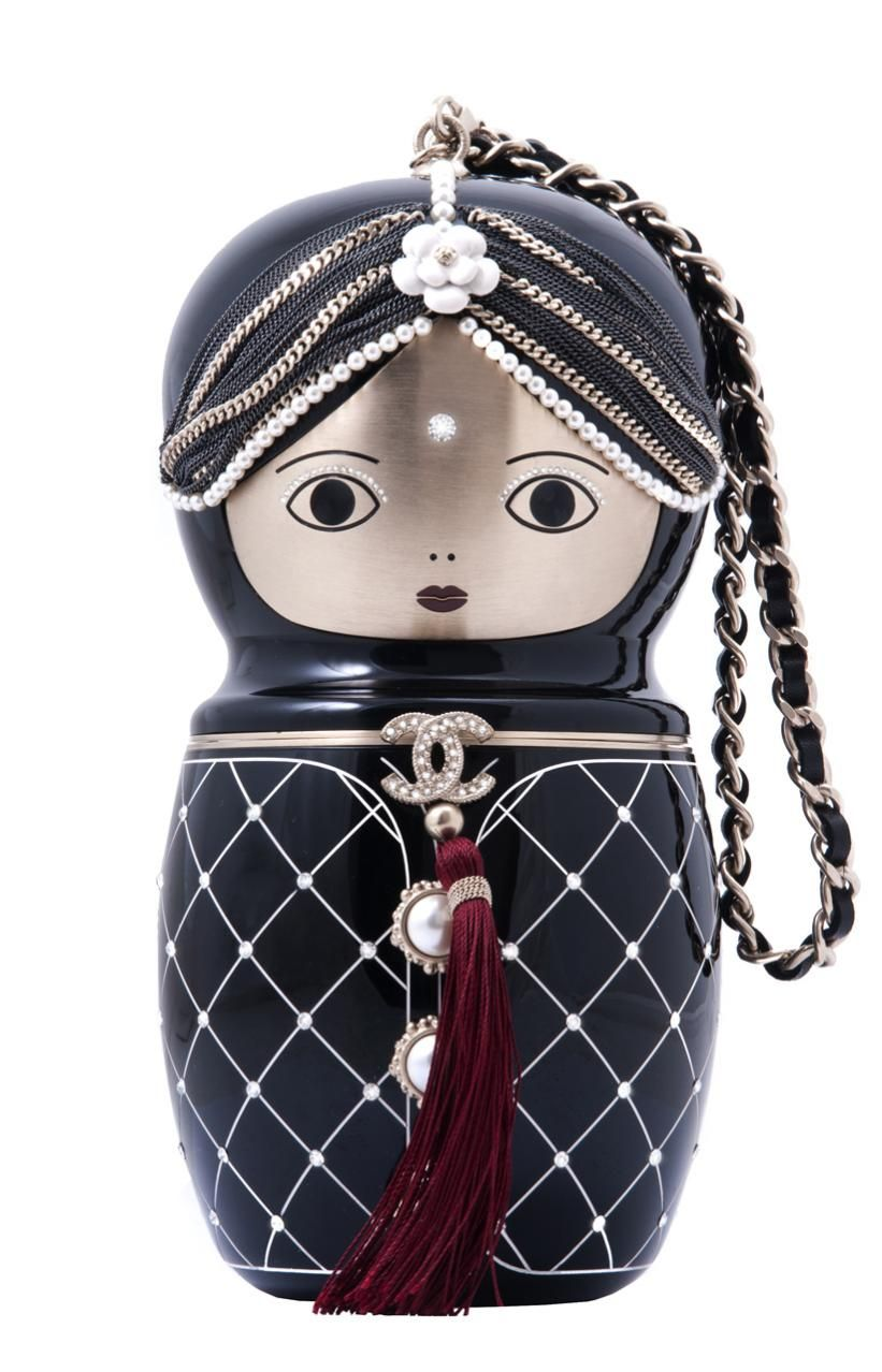 8d6aa2380b7005 chanel paris bombay Collector's Doll Bag | CHANEL HANDBAGS in 2019 ...