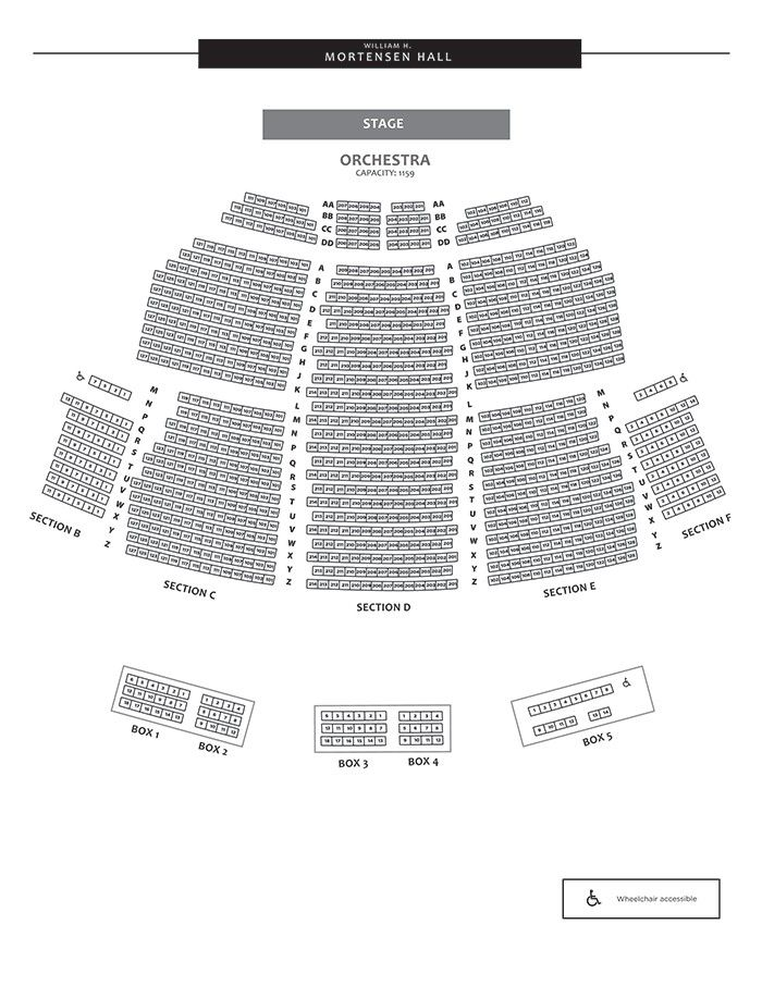 Bushnell Seating Chart Best Of Theater