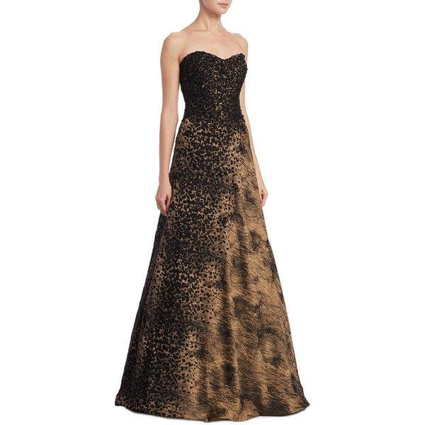 4b6606f223b RENE RUIZ Metallic Design Gown ( 1