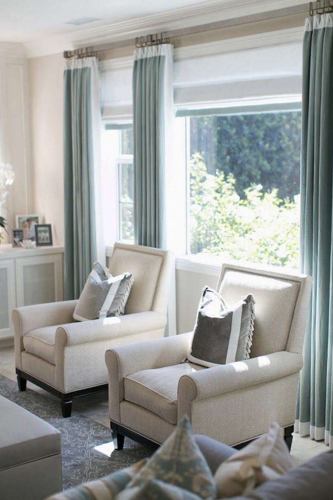 How to Choose Curtain Color: | Home living room, Home ...