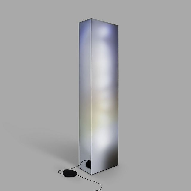 Mirror Light Diffusing Plexiglas Solid Surface Transparent Film One Way Smoked Mirror Leds Galerie Bsl Edition Of 8 4 Ap 19 Na Mirror With Lights Lamp Light Lamp Design