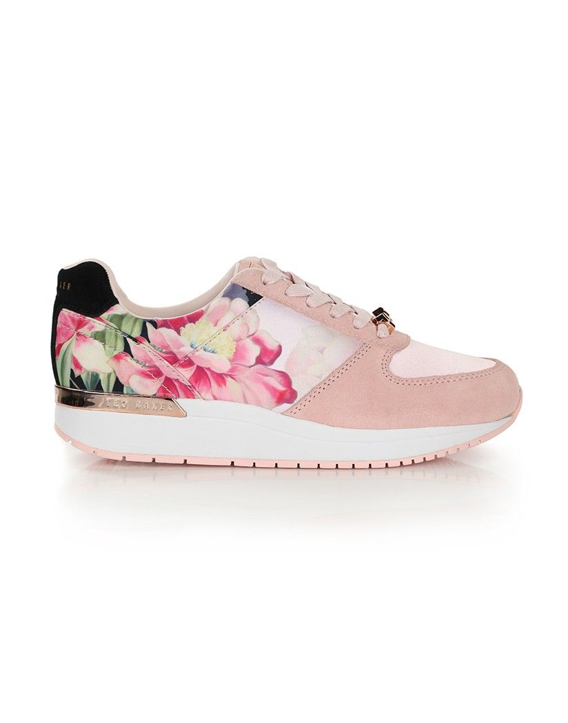 c217473ba0db4 Ted Baker Women s Esmay Printed Trainers - Painted Posie