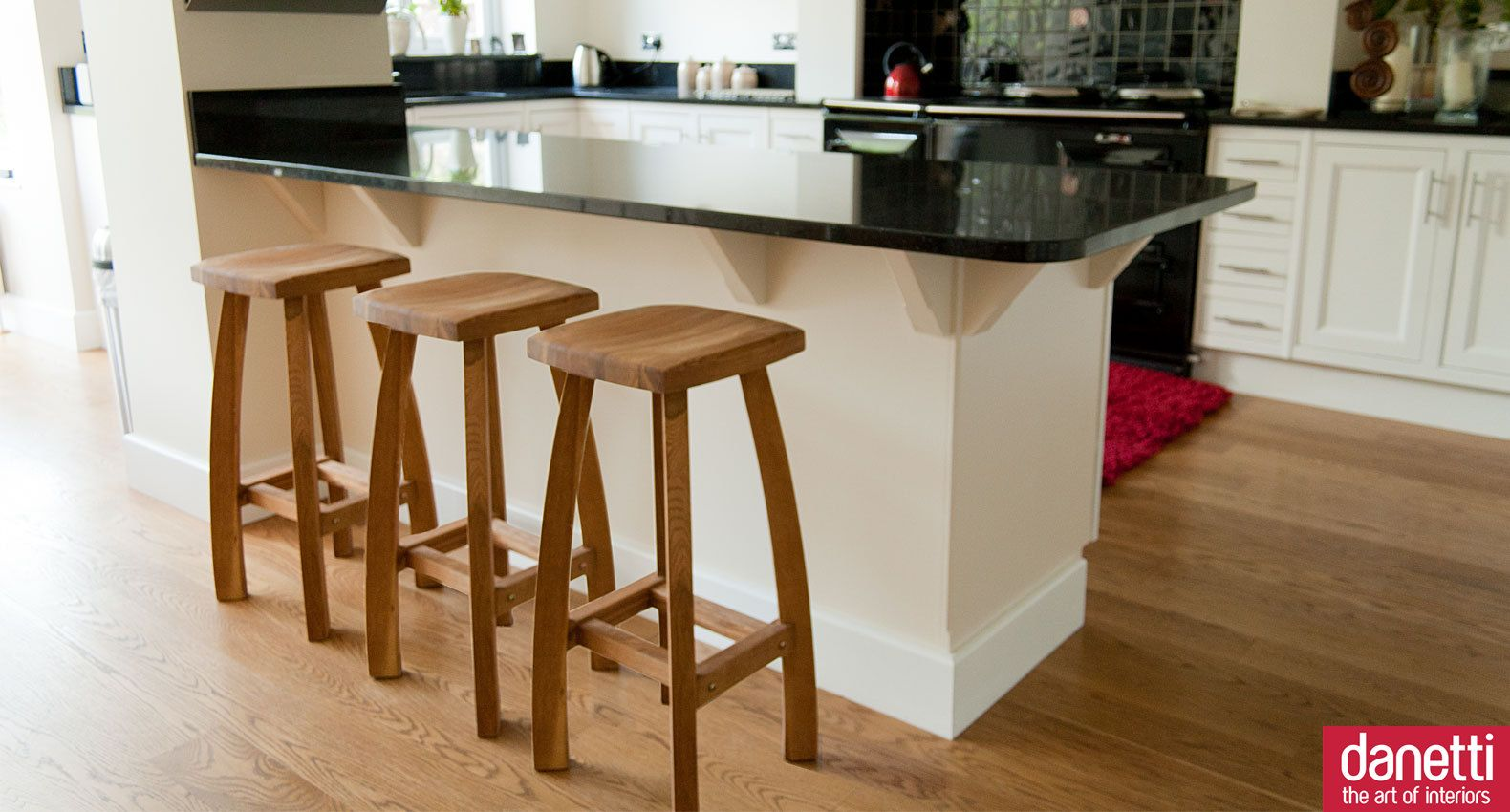 Oak bar stool oak bar stools shaker style kitchens and for Modern kitchen bar stools
