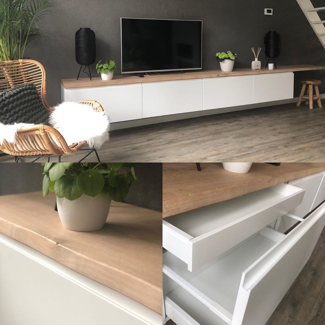I Ve Been Looking So Long For The Perfect Wall Mounted Tv Cabinet It Has To Meet A Few Requirements Ha In 2020 Tv Cabinet Ikea Wall Mounted Tv Cabinet Living Room