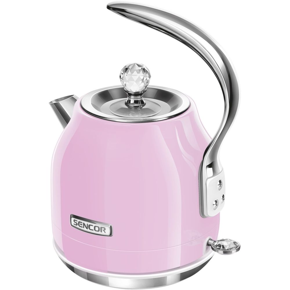 Sencor - 1.5L Electric Kettle - Pink/silver
