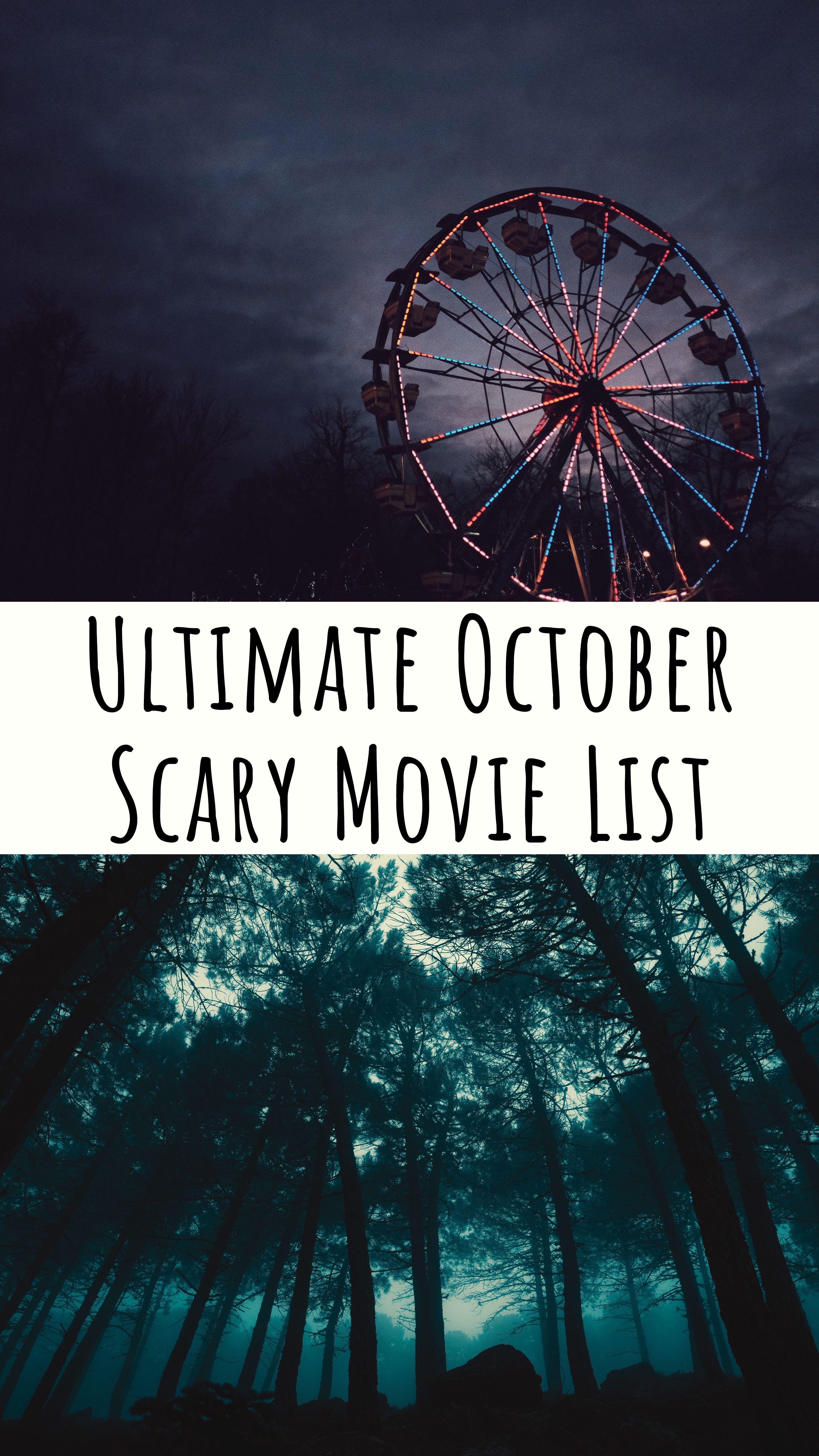 Ultimate Scary Movie List scarymovies scarymovie