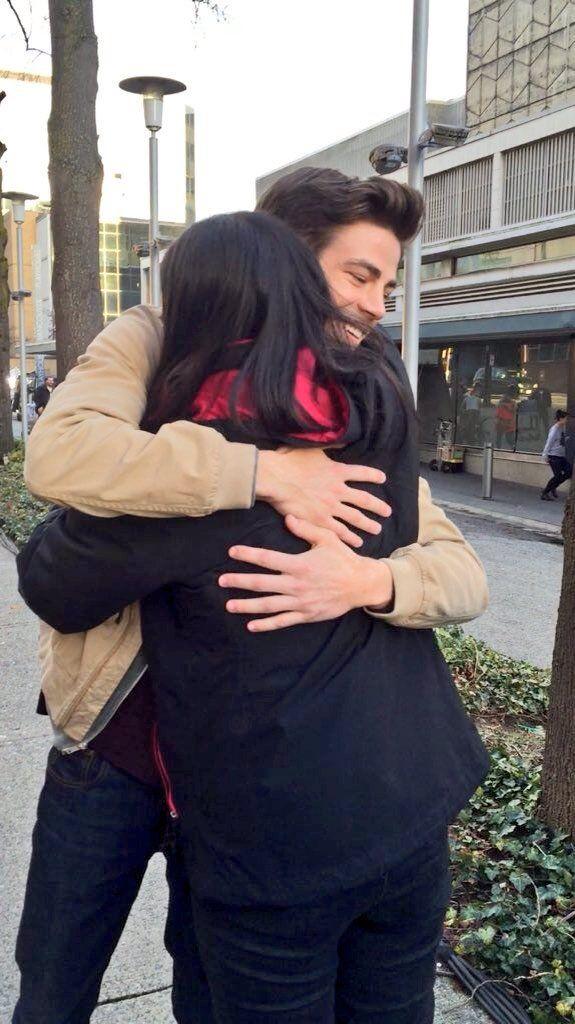Grant Gustin Tweets National Hug Day