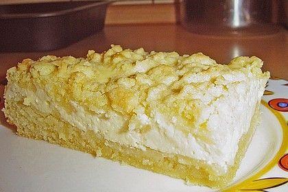 Schneller Quark-Streuselkuchen mit Obst #dessertbars