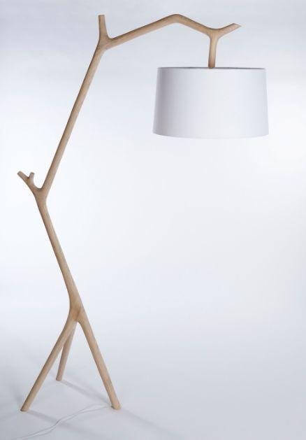 lampadaire naturel