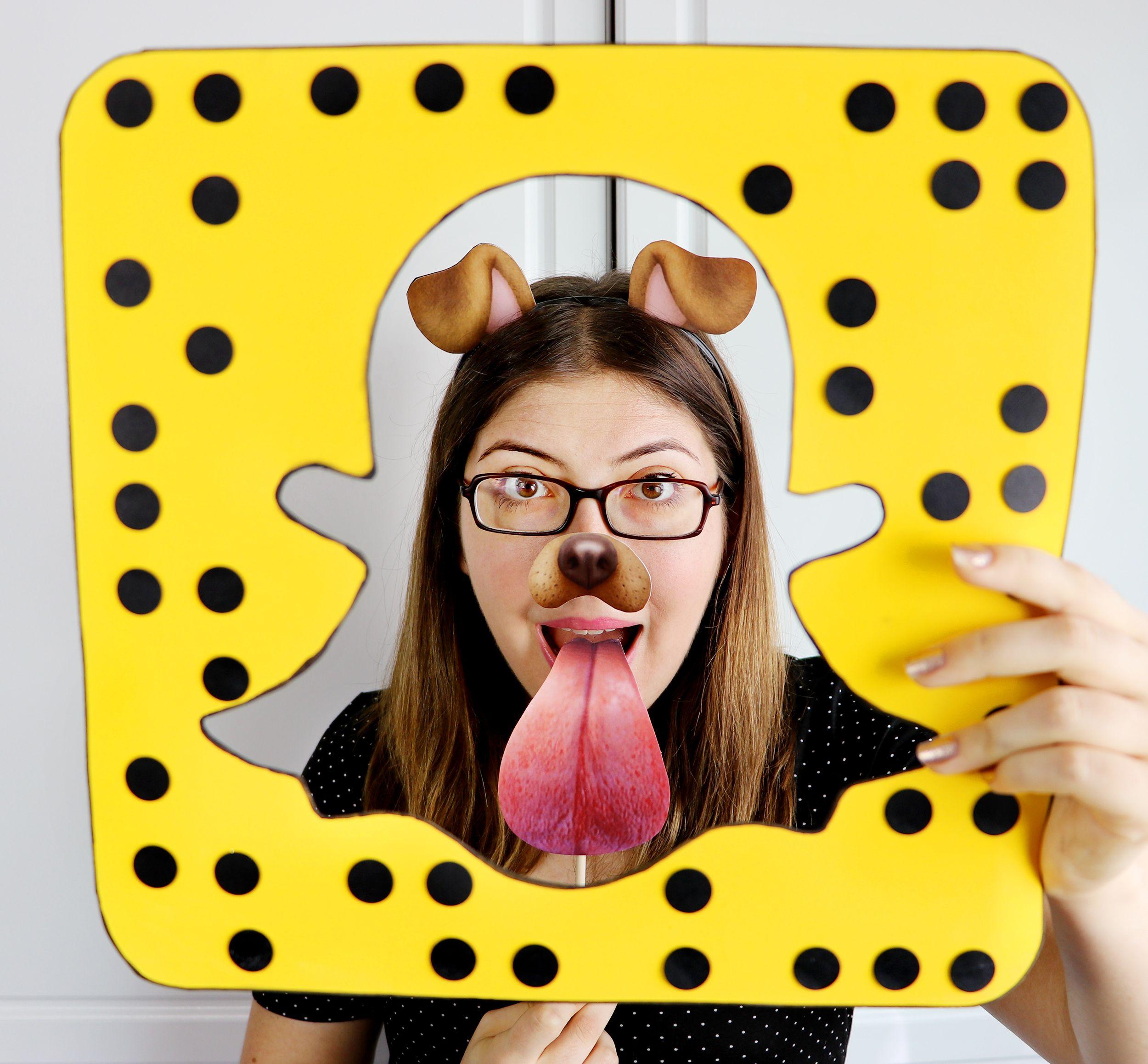 DIY LastMinute Snapchat Dog Costume! Halloween 2016
