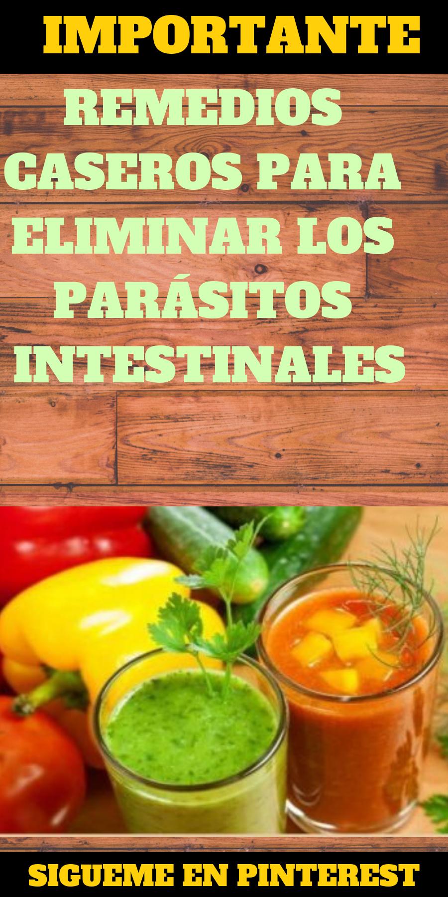 Tratamiento casero para parasitos en el estomago