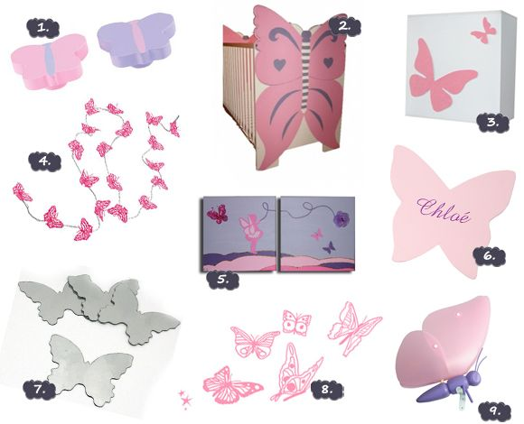 Butterflies accessories