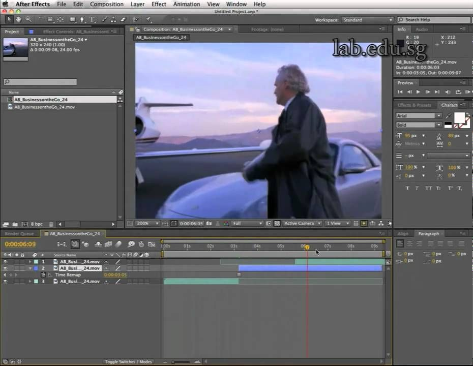 Stop and Go (freeze frame) with Adobe After Effects | After effects ...