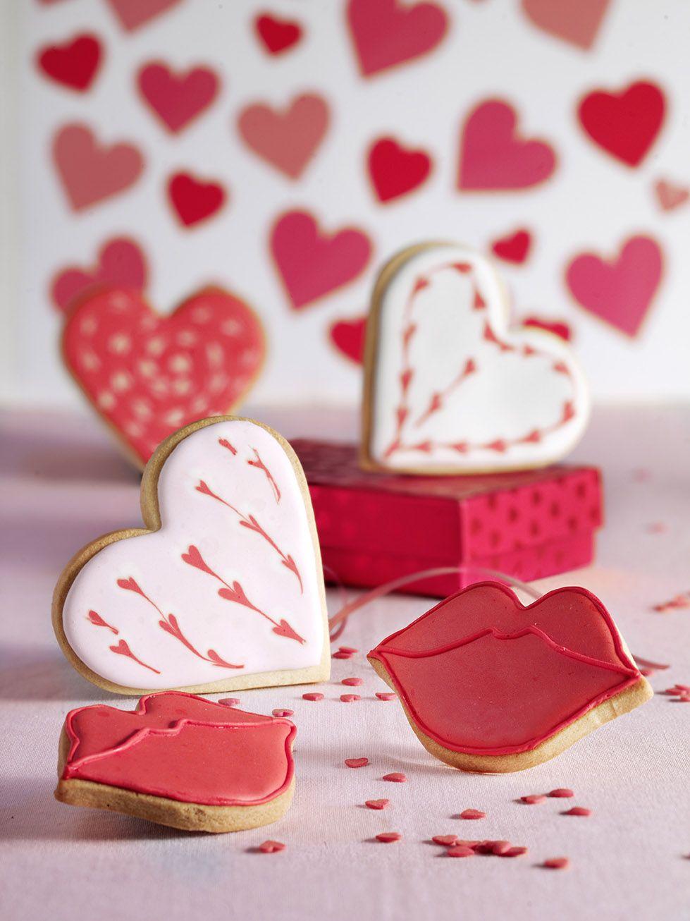 Icing koekjes valentijn hart