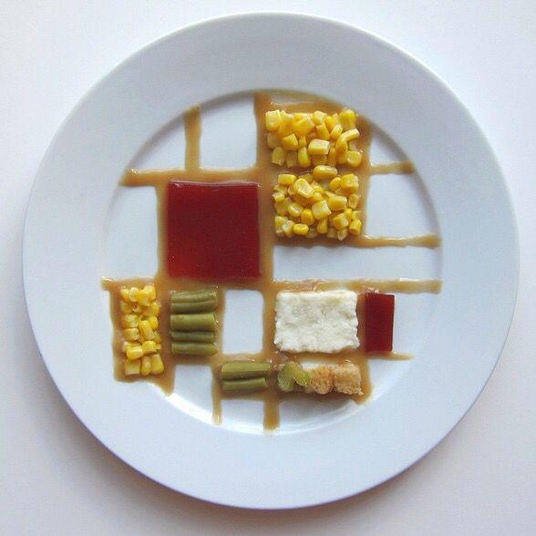 Thanksgiving by Piet Mondrian