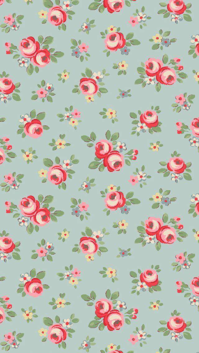 33f3adab3f7c2da30bcac2b2693bf0fa 640x1136 Pixels Vintage WallpapersFloral WallpapersIphone WallpapersBlue