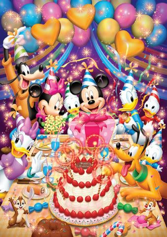 Happy Birthday Tjn With Images Happy Birthday Disney Mickey