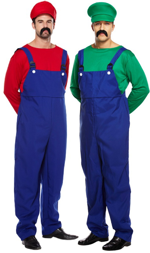 Mens Super Mario S Fancy Dress Costumes 1990s Best Man And